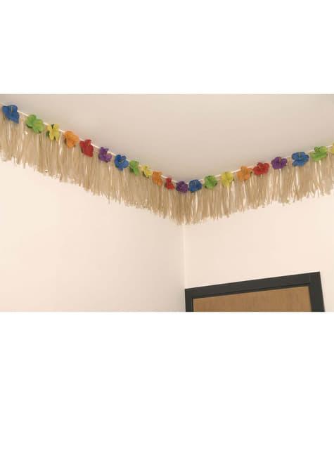 Grinalda havaiana decoração