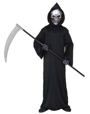 Costum de moarte înfricoșătoare pentru copii