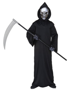 Skremmende Død Kostyme Barn