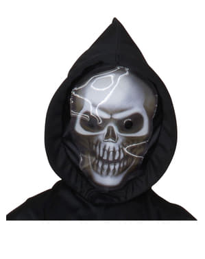 Disfraz de muerte aterradora infantil