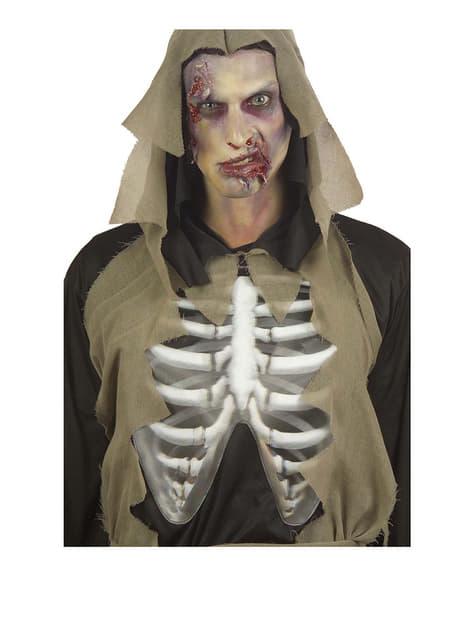 Disfraz de zombie huesudo para hombre - hombre