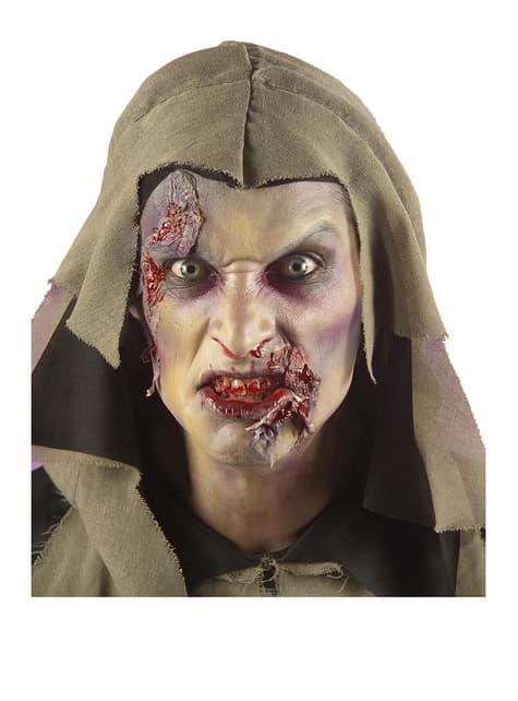 Disfraz de zombie huesudo para hombre - original