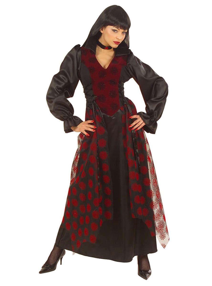 viktorianische vampirin kost m f r damen funidelia. Black Bedroom Furniture Sets. Home Design Ideas