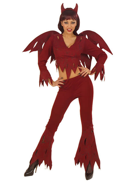 Womens Seductive She Devil Costume