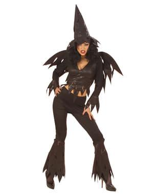 Fato de bruxa sedutora para mulher