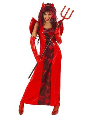תלבושות השטן נשים גותית היא