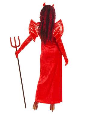 Disfraz de diablesa gothic para mujer