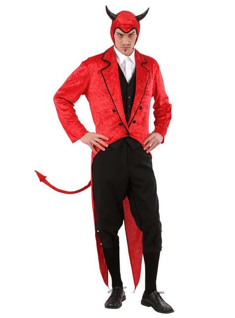 Disfraz de Luis Cifer de terciopelo para hombre