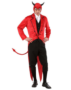 Стилен мъжки костюм на дявол