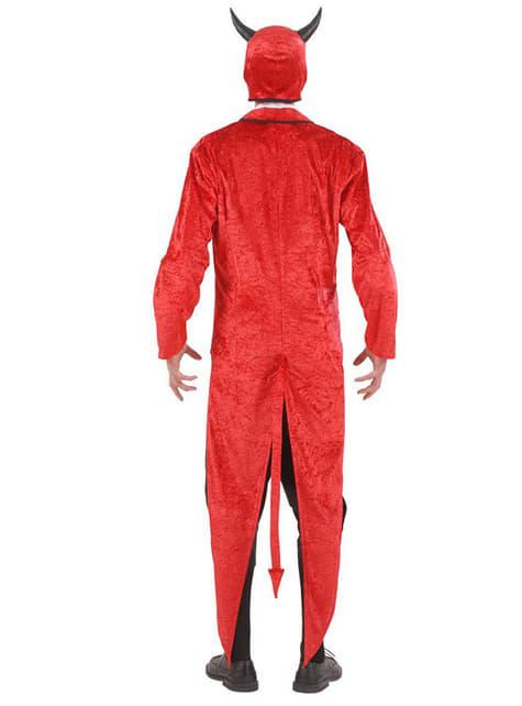 Disfraz de Luis Cifer de terciopelo para hombre - hombre