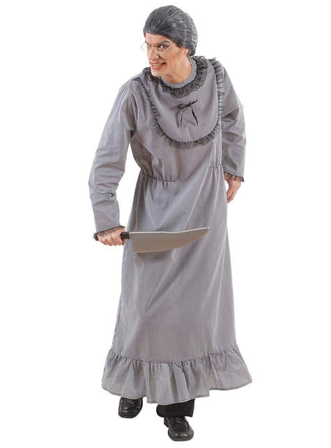 Mens Killer Grandma Costume