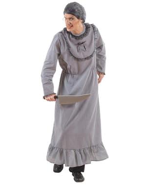 Morderisk bedstemor kostume til mænd
