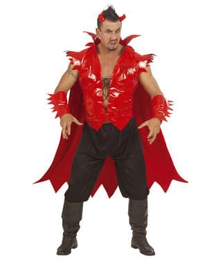 Kostium świecący diabeł męski