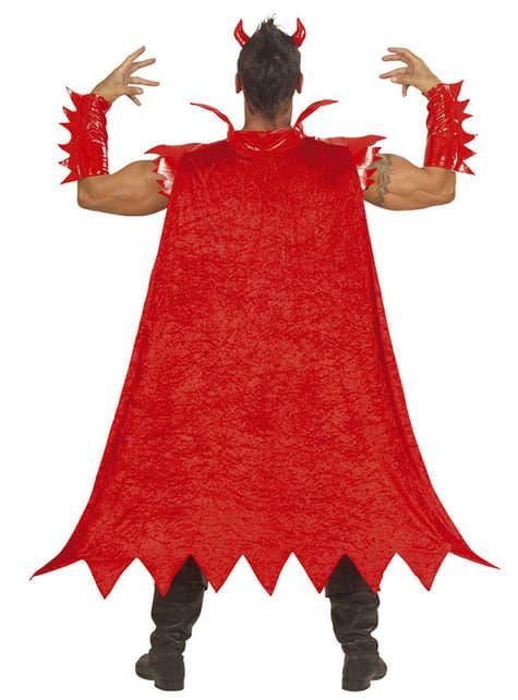 Disfraz de diablo luminoso para hombre