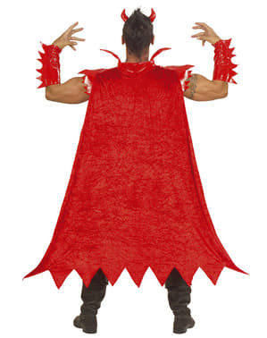 Costum de diavol luminos pentru bărbat
