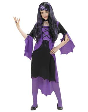 Gotisk vampyrinna Maskeraddräkt Barn