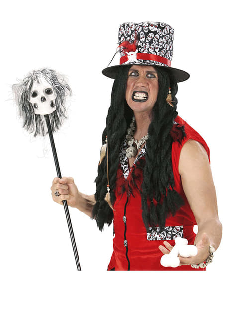 Long Voodoo Wig