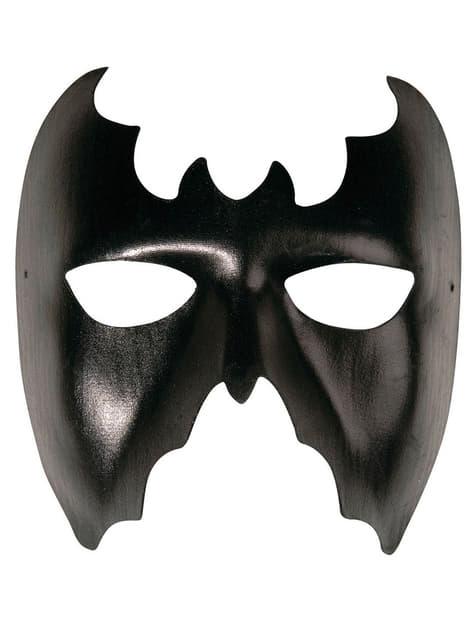 Máscara de morcego preto