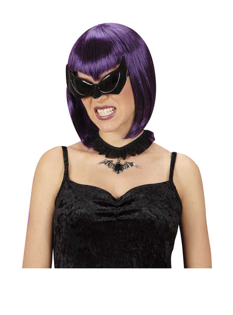 Gafas de murciélago negras - para tu disfraz