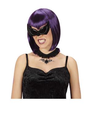Gafas de murciélago negras