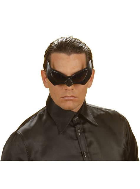 Okulary nietoperza czarne