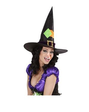Lesklý čarodějnický nos