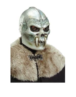 Kriger Hodeskalle Maske med Hoggtenner