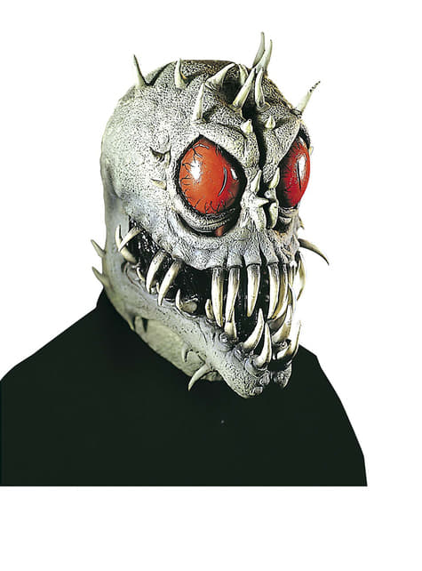 Máscara de bestia del espacio
