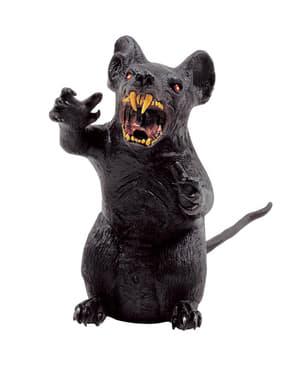 Rato terrífico de decoração
