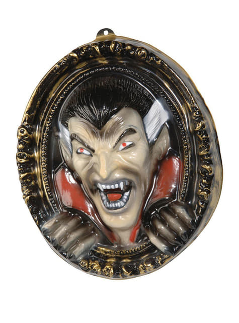 Dracula Portrait Wall Decoration