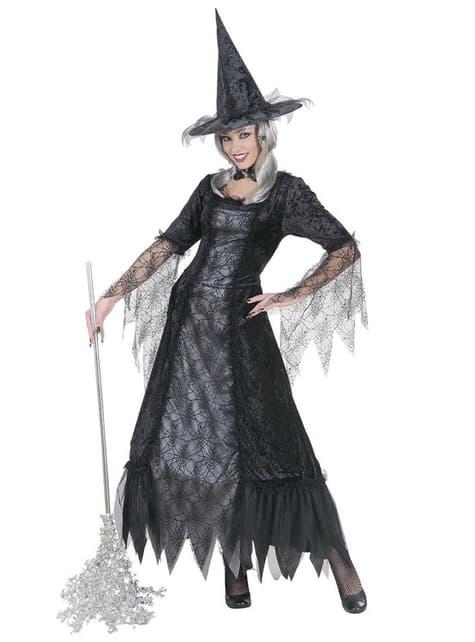 תלבושות נשי עכביש מכשפה