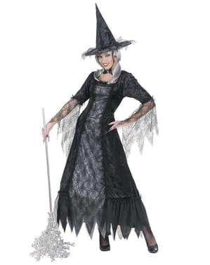 Spinnen-Hexe Kostüm für Damen