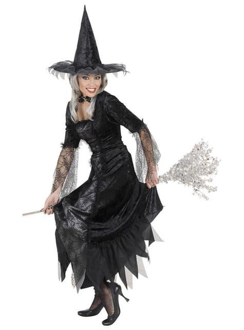 Déguisement de sorcière arachnéenne pour femme