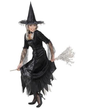 Fato de bruxa aracnídea para mulher