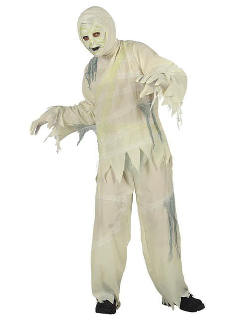 Strój mumia zombie dla chłopca