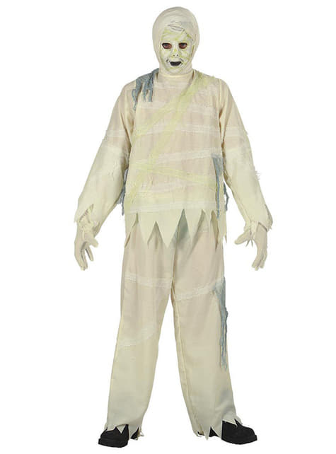 Disfraz de momia zombie para niño - hombre