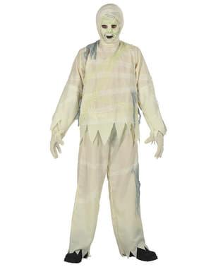 Zombie mumiekostume til drenge