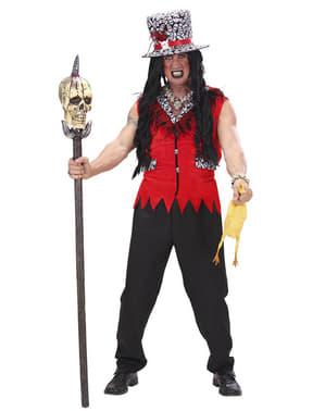 Voodoo präst Maskeraddräkt Vuxen