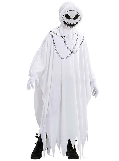 Disfraz de fantasma espectral para niño