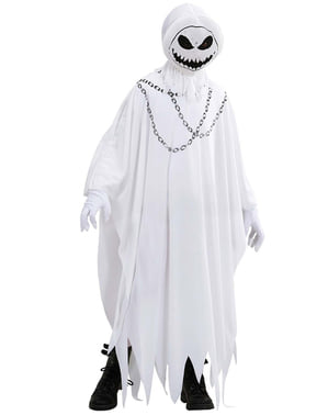 Fato de fantasma espectral para menino