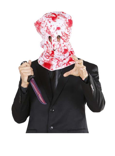 Máscara de hombre ensangrentado - para tu disfraz