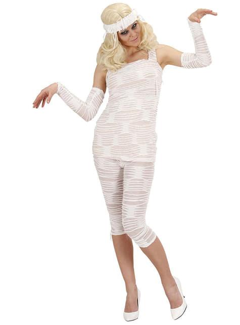 Disfraz de Momia chic para mujer