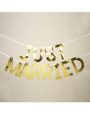 Просто женен гирлянд - Geo Floral