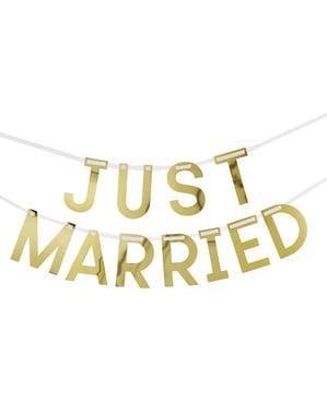 Girlanda Just Married – Geo Floral