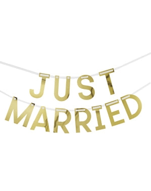 Girlang Just Married - Geo Floral
