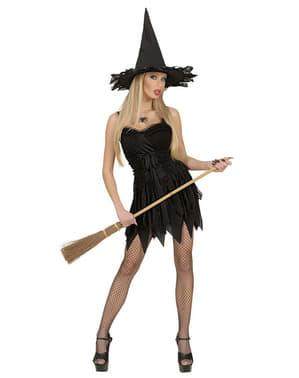 Hexe Kostüm für Damen classic sexy