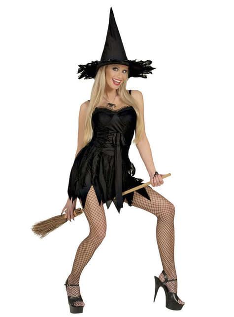 Kostium czarownica klasyczna sexy damski