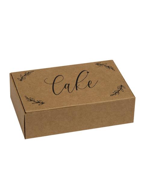 10 boîtes cadeaux en carton - Hearts & Krafts