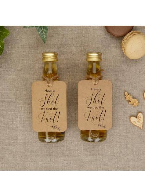 10 etiquetas de papel - Hearts & Krafts