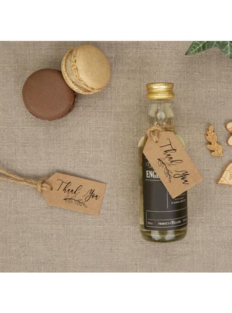 10 étiquettes en carton - Hearts & Krafts